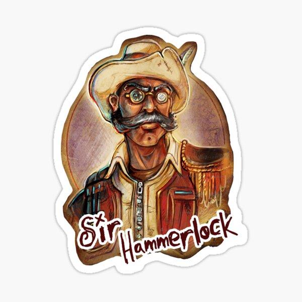 Sir Hammerlock Sticker