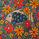 Fish in Flowers by leahpeah