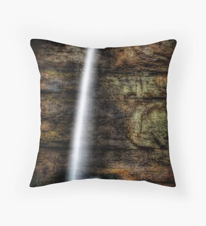 Dark Falls Throw Pillow