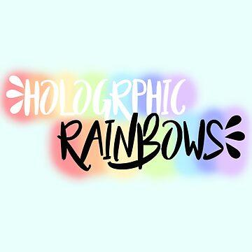 Holographic Rainbows Design by killkillian