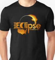 Total Solar Eclipse Astronomy August 21 2017 T Shirt T-Shirt