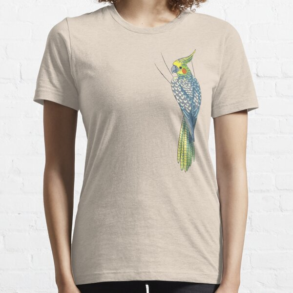 Pearled Cockatiel Essential T-Shirt