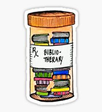 Prescription for Books Sticker