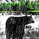 bear mountain by MyHandmadeSigns
