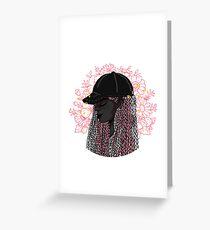 braids 2 Greeting Card
