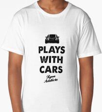 Cute Funny Matching Car Guy Shirt Gift Long T-Shirt
