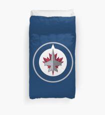 Winnipeg Jets Duvet Cover