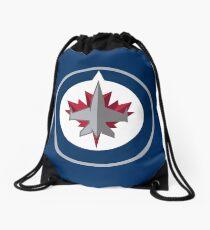 Winnipeg Jets Drawstring Bag