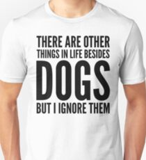 Hunde Slim Fit T-Shirt
