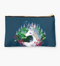 .The unicorn lived in a lilac wood. Studio Pouch