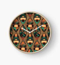 MCM Tiki Lounger Clock