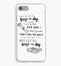 seize the day iPhone Case/Skin