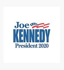 Joe Kennedy for President 2020 Photographic Print