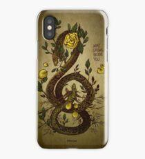 WHAT GROWS INSIDE YOU iPhone Case