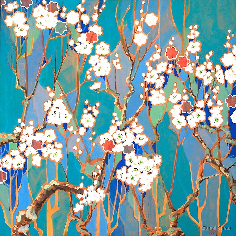 Autumn Blossoms by Sumei Chew