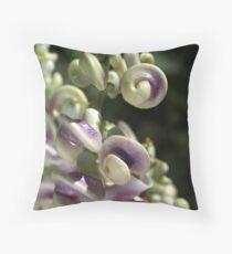 Corkscrew Vine Flower Throw Pillow