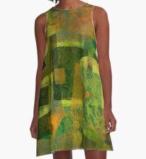 Dorado Verdiso and Butterfly A-Line Dress