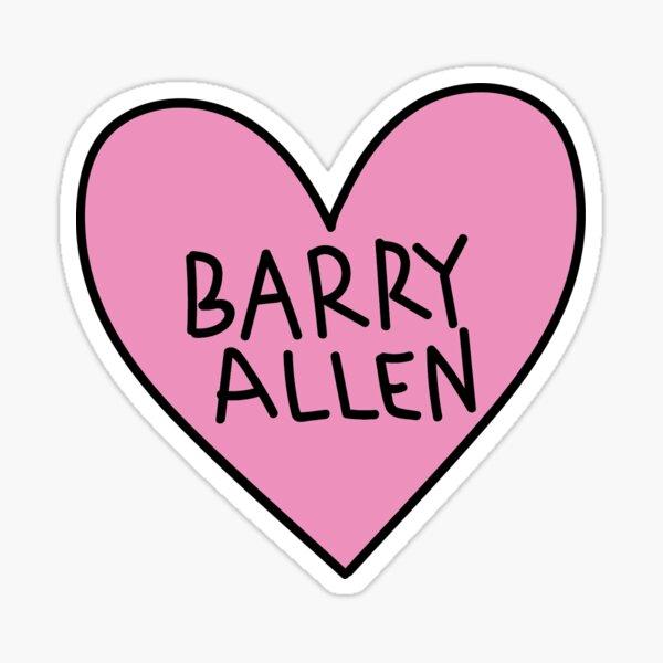 I love Barry Allen Sticker