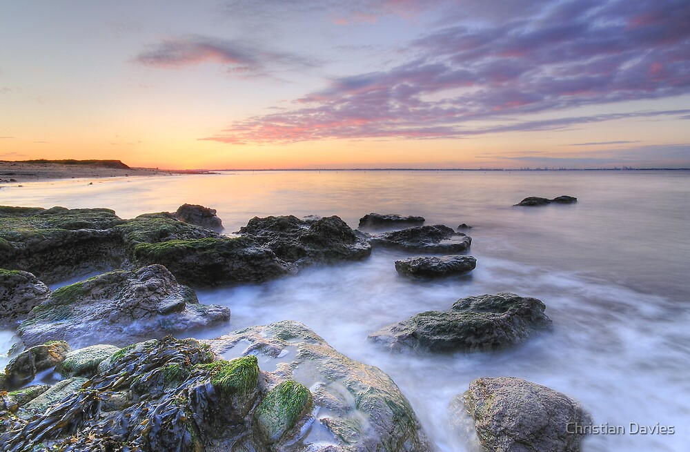 Midsummers Sunset at the Naze by Christian Davies