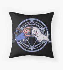 Fullmetal Fusion Ha! Throw Pillow