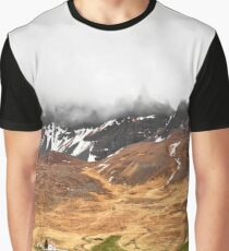 Looming Oxnadalur Fog Graphic T-Shirt