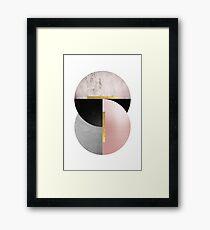 Geometric Art Deco No. 2 Framed Print