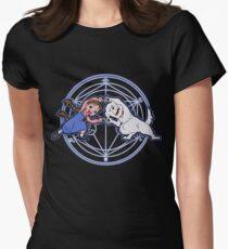 Fullmetal Fusion Ha! T-shirt col V femme