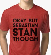 Sebastian Stan Tri-blend T-Shirt