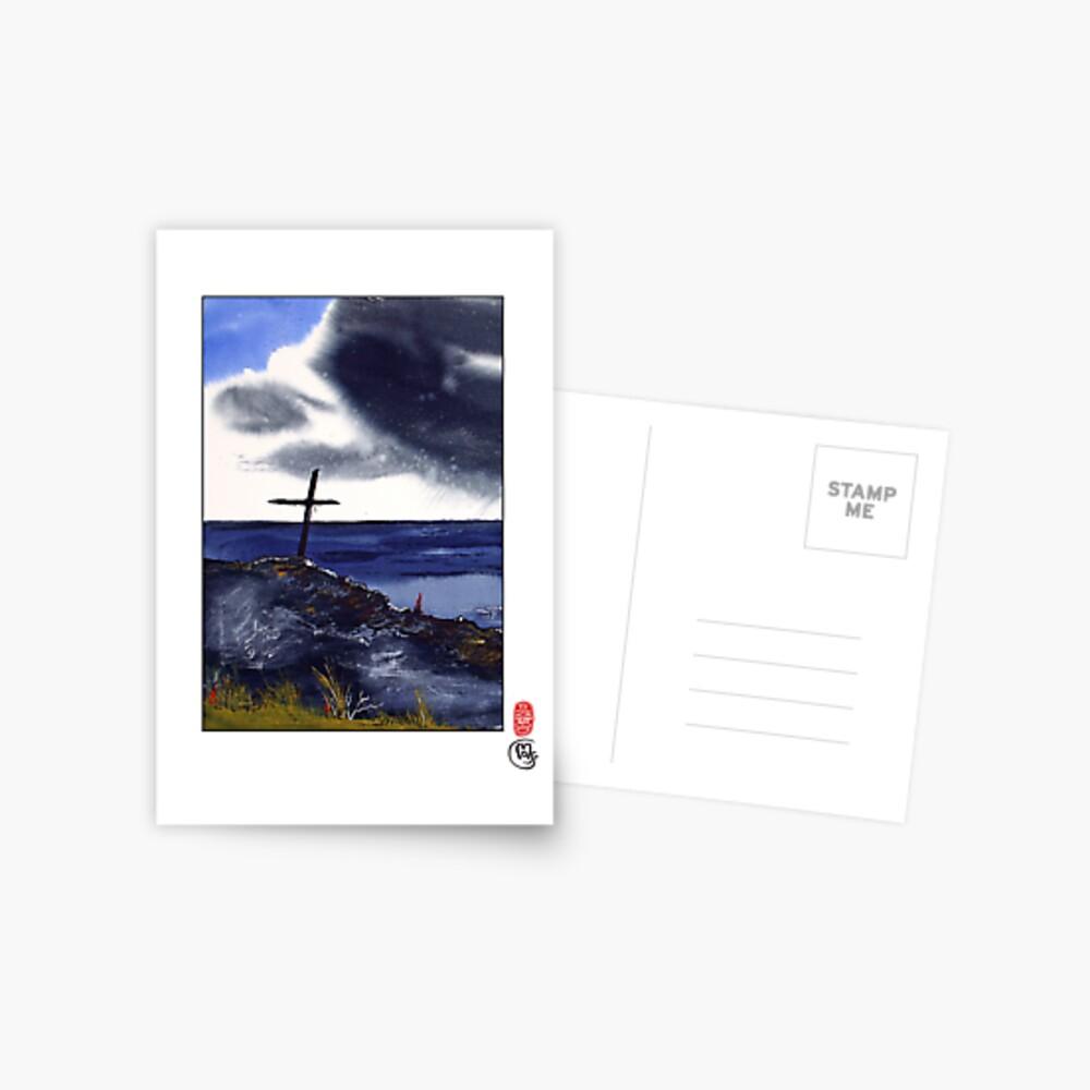 Fisherman's Rest Postcard