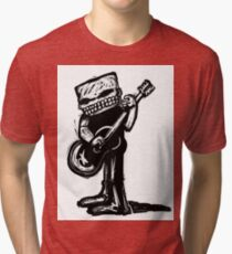 Touch me the note Tri-blend T-Shirt