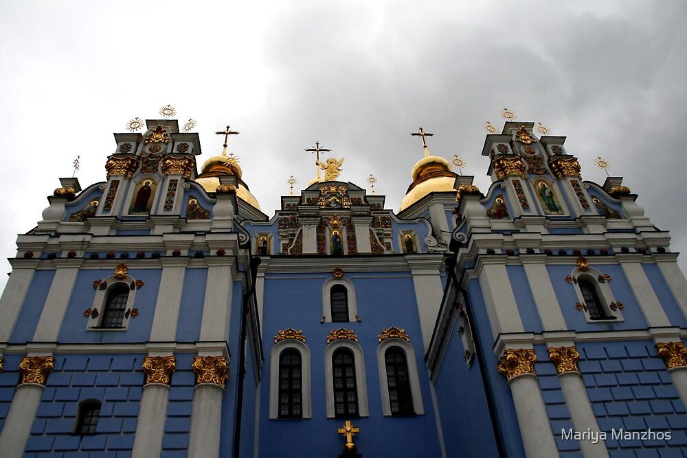 Mihaylovskaya Church, Kiev, Ukraine by Mariya Manzhos