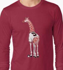 Belt Giraffe (Textless) Long Sleeve T-Shirt