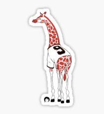 Belt Giraffe (Textless) Sticker