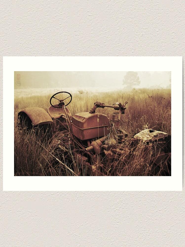 Alternate view of Smoke and Rust Art Print