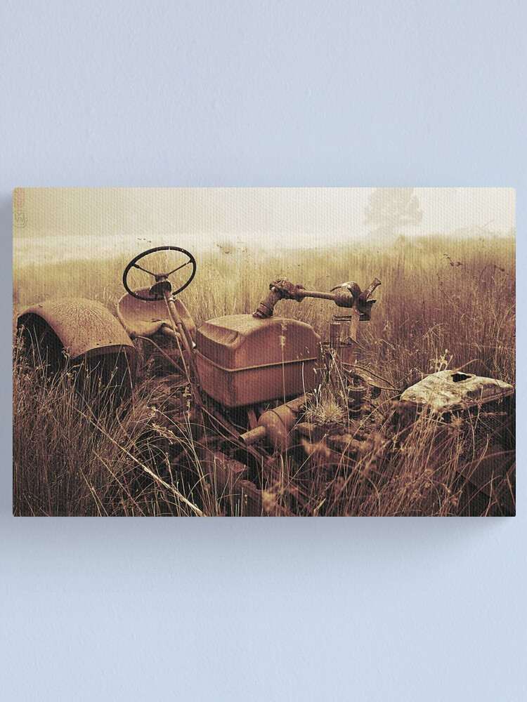 Alternate view of Smoke and Rust Canvas Print