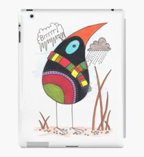 Bird in Winter iPad Case/Skin