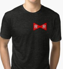 Android 17 Red Ribbon Army Tri-blend T-Shirt