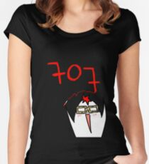 707 Mystic Messenger Collection Women's Fitted Scoop T-Shirt