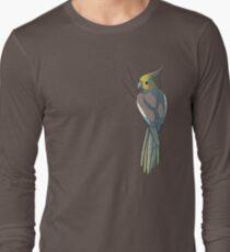 Cinnamon Female Cockatiel Long Sleeve T-Shirt