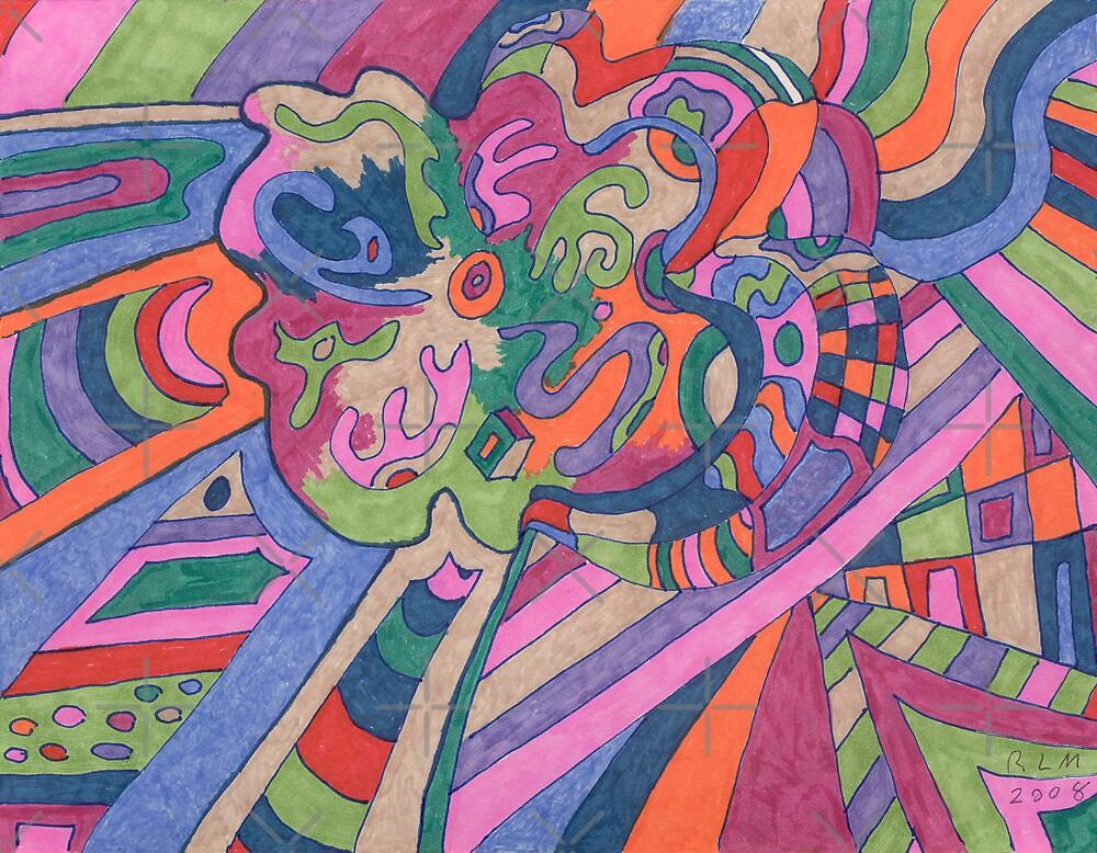 Ride the Groovy Rainbow by Rebekah  McLeod