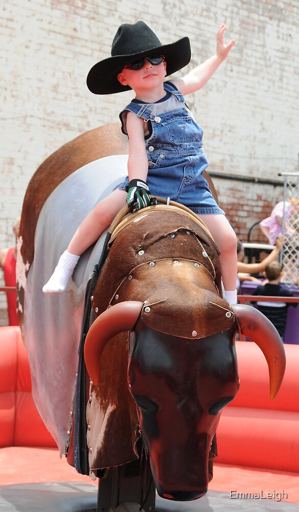 Youngest Bullrider! by EmmaLeigh