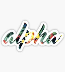 Alpha Sticker
