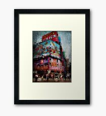Controlled Chaos and Colour - Shinjuku Framed Print