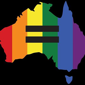 LGBT equality Australia by GBCdesign