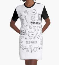 MAIL CARRIER Graphic T-Shirt Dress