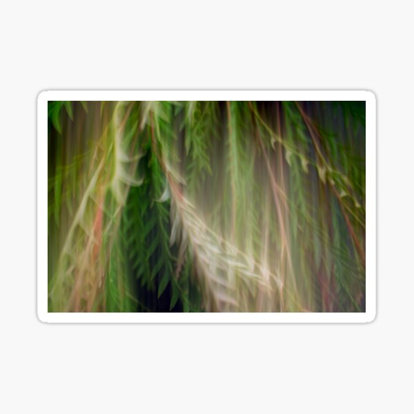 Fleur Blur Series-Abstract Decorative Leaves Sticker