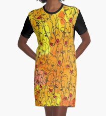A million happy faces with Bob Shane - Monsthree Graphic T-Shirt Dress