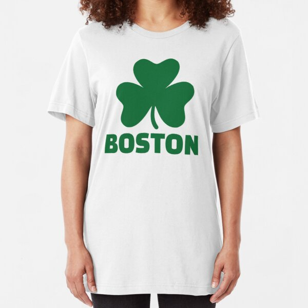 Boston shamrock Slim Fit T-Shirt