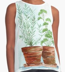 Rosemary and Parsley Contrast Tank