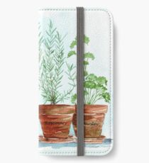 Rosemary and Parsley iPhone Wallet/Case/Skin